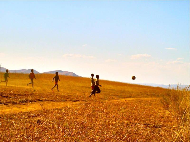 Football sur les hauts plateaux. Florence Didisheim