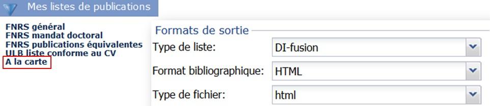 Liste HTML