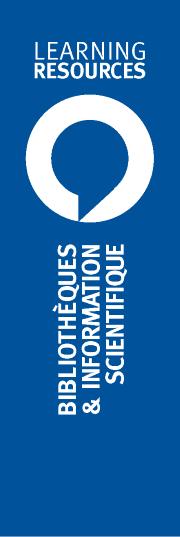Logo du Département des Bibliothèques et de l'Information Scientifique