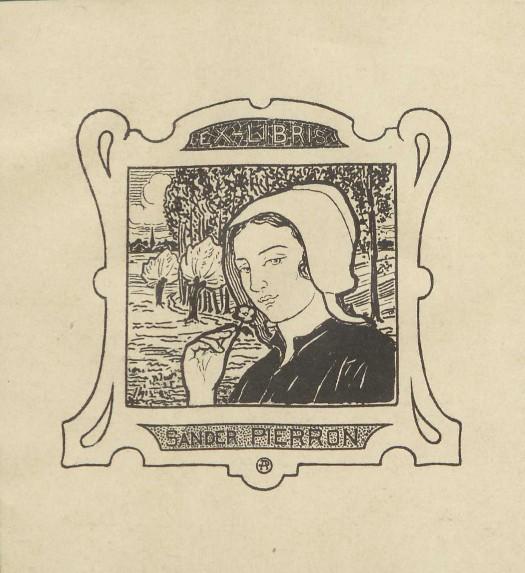 PIERRON Sander, Les rides de l'eau : roman, Bruxelles, Paris : Association des écrivains belges, 1914.