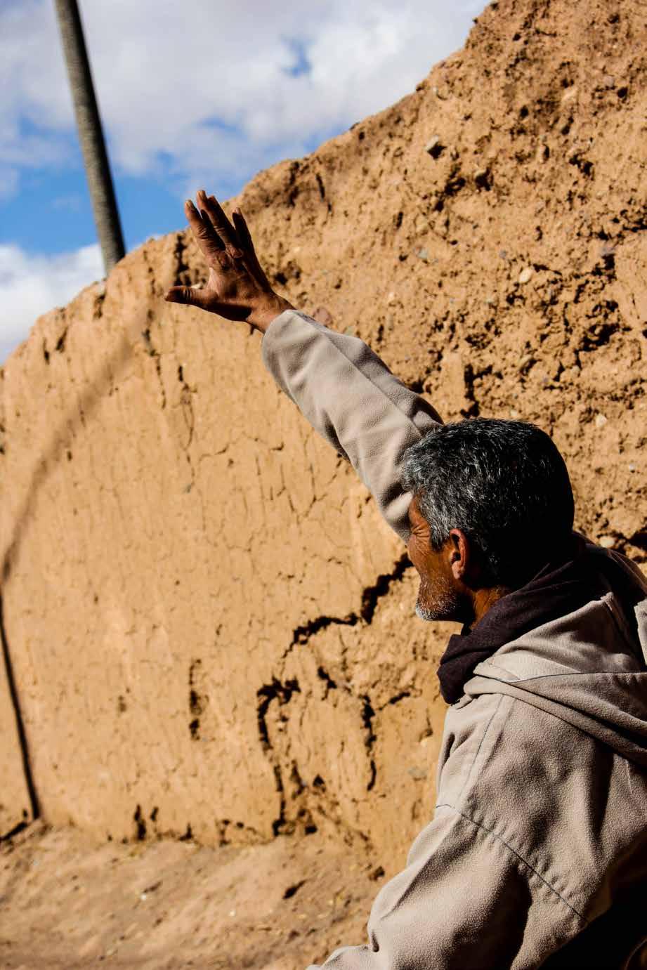 Un homme à Ouarzazate
