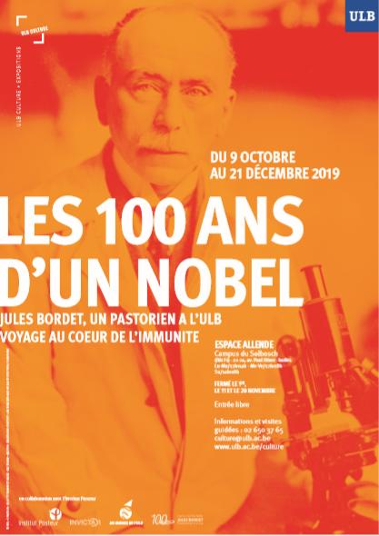 Les 100 ans d'un Nobel: Jules Bordet, un pastorien à l'ULB