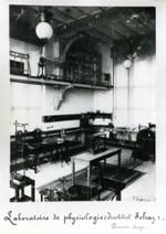 Institut de physiologie et d'hygiène. Parc Léopold. Labo.